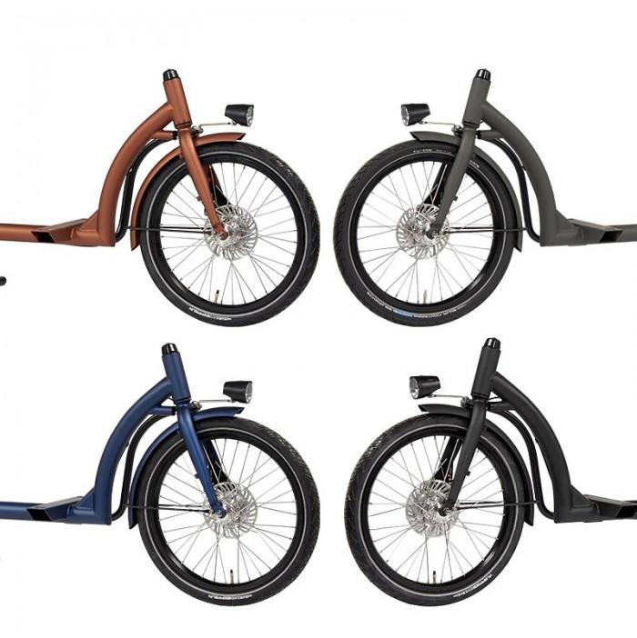 Dolly Bike Cargo Elektro Rahmen Farben