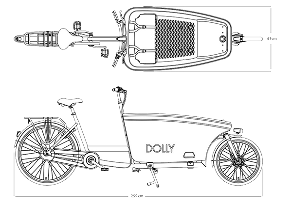 Dolly Bike Abmessungen