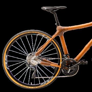 My Boo Densu Cross Bambus Fahrrad Detail hinten