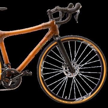 My Boo Densu Cross Bambus Fahrrad Detail vorne