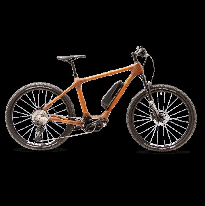 My Boo Atakora E Bambus Fahrrad mit käftigem Motor